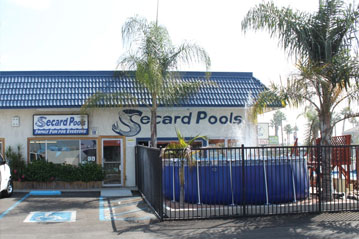 Secard Pools and Spas Orange Ca