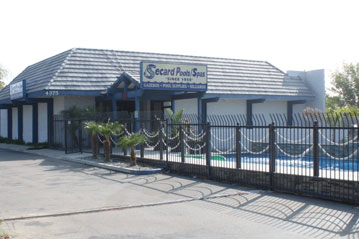 Secard Pools and Spas Riverside Ca